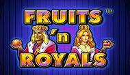 Игровой автомат Fruits and Royals клуба Вулкан